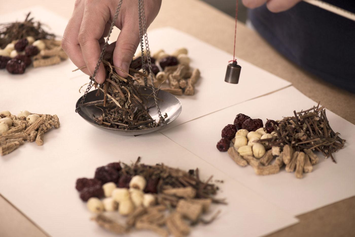 Plantes médicinales herboriste chinois